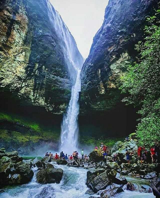 Devkund Waterfall Drone Video