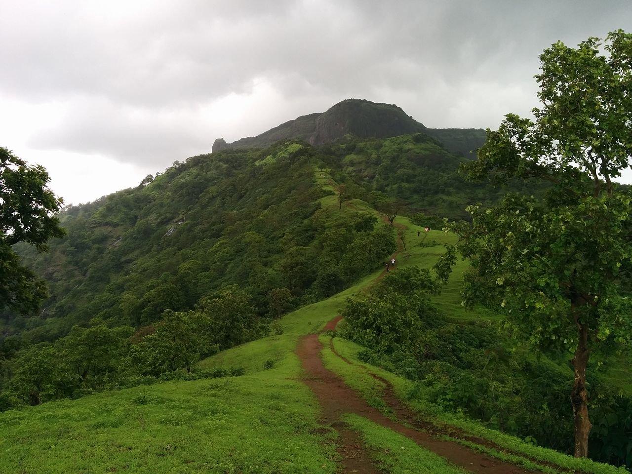 One tree hill trek near Mumbai