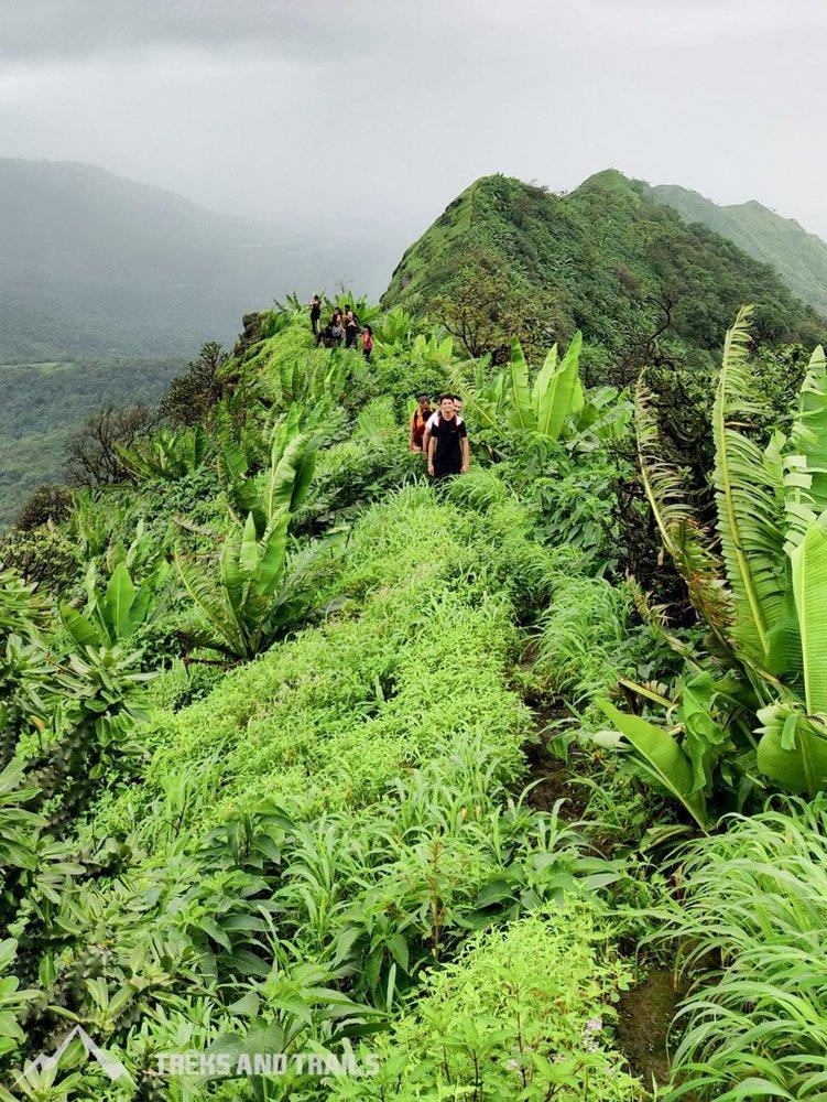 Nakhind ridge