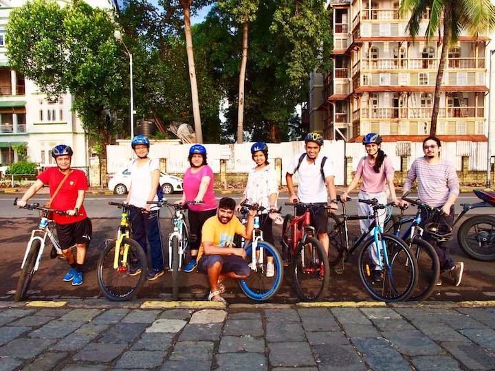 Mumbai Breakfast Cycle Ride