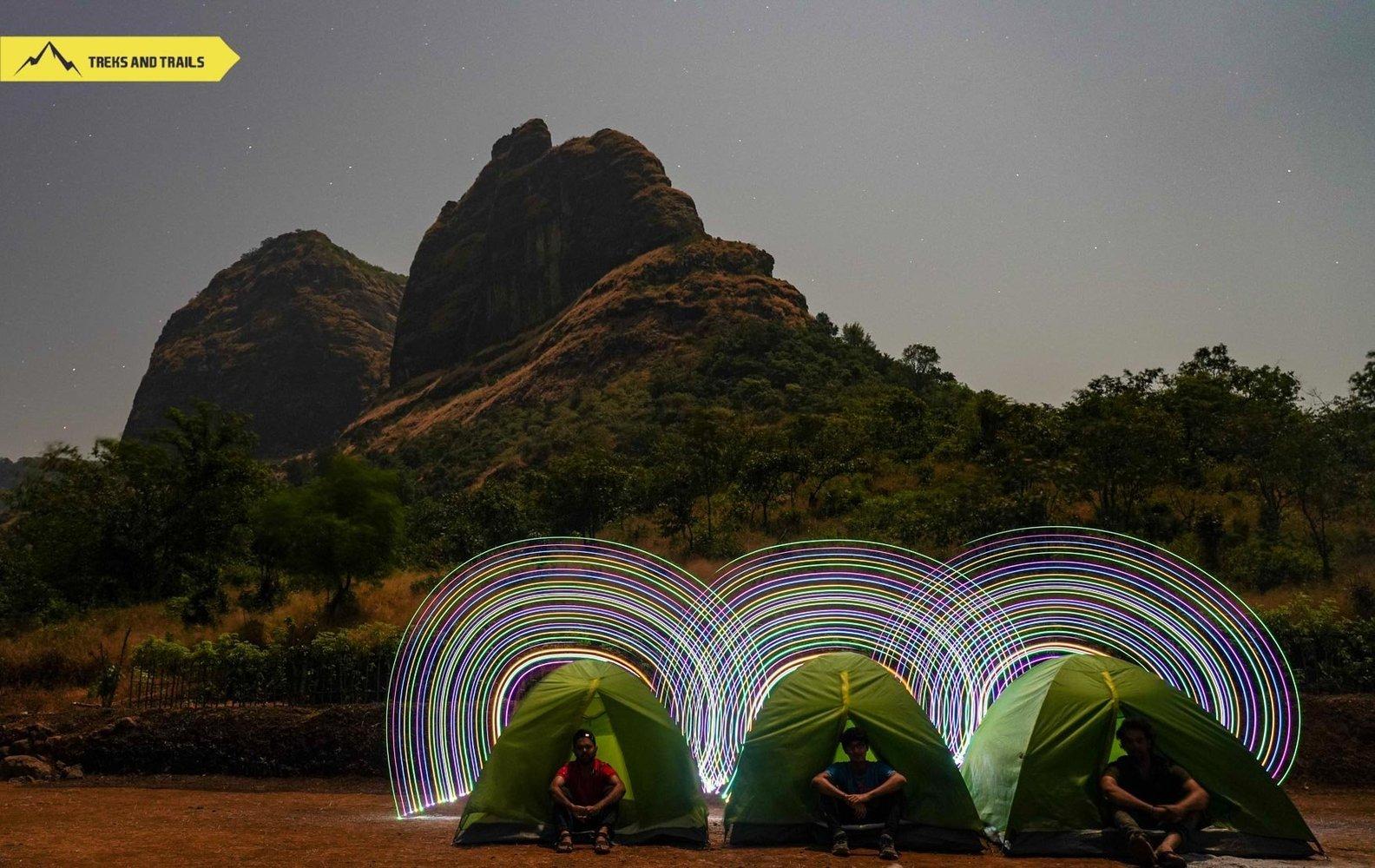 Prabalmachi Camping and Kalavantin Durg Drone Video
