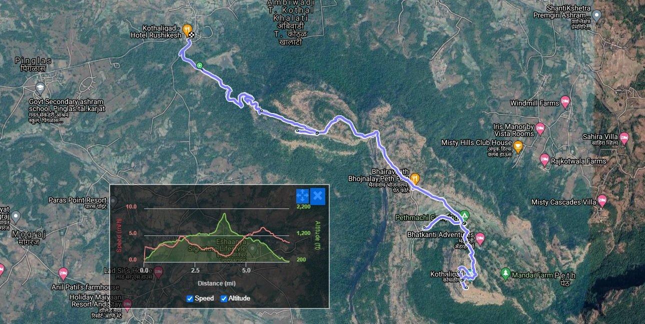 Kothaligad Map