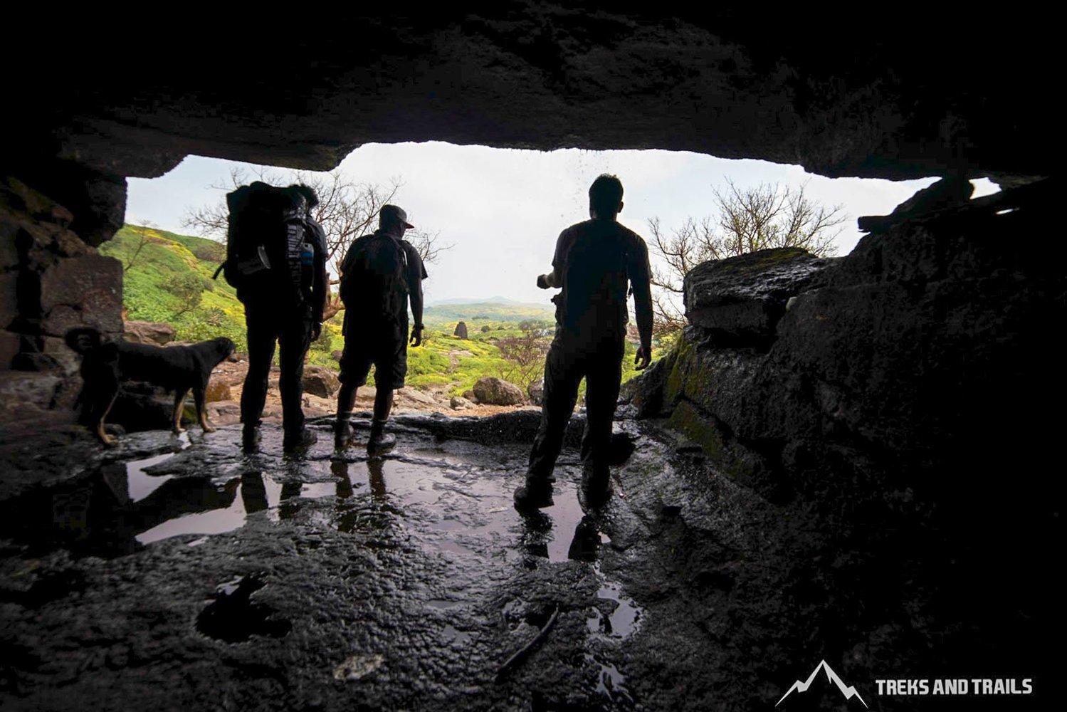 Caves on Harishchandragad